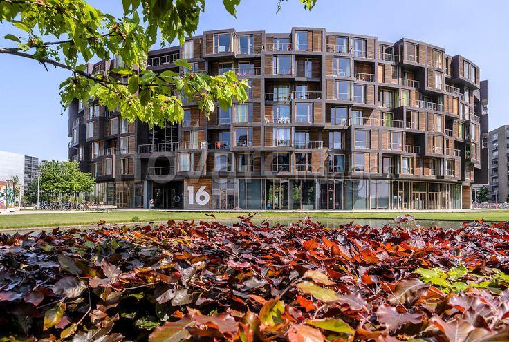 Student residence Tietgenskollegiet, Amager, Copenhagen, Denmark