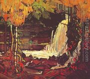 Woodland Waterfall  by Tom Thomson