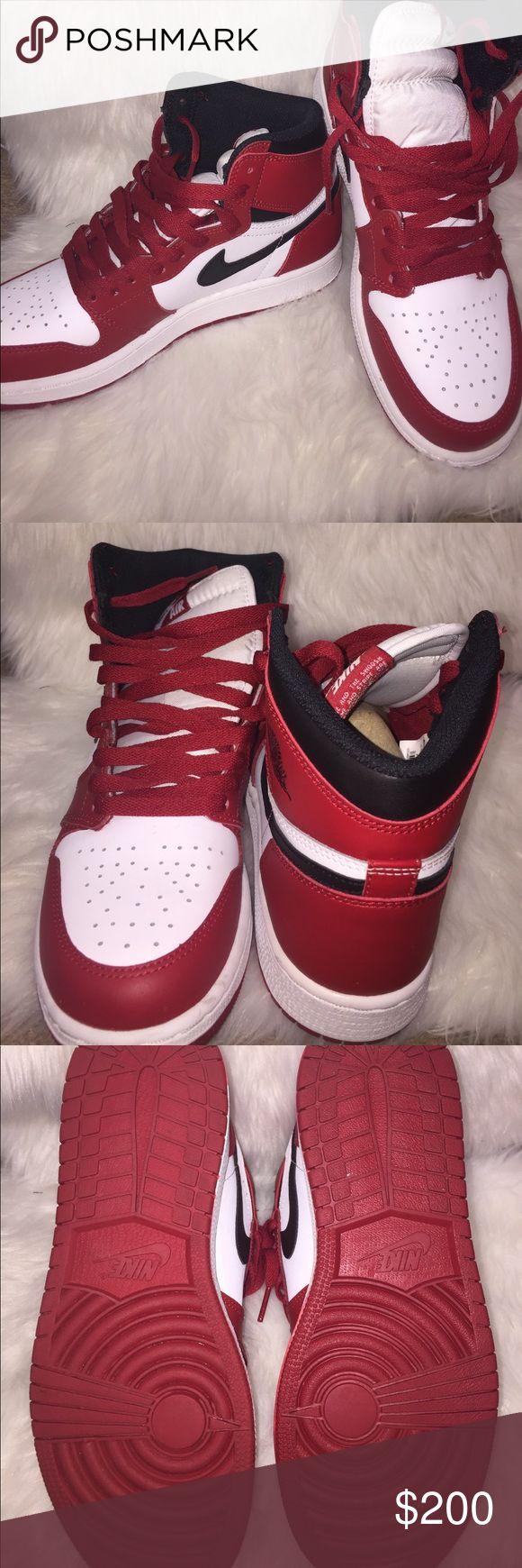 Nike Retro OG's Red, black and white Jordan Retros Nike Shoes Sneakers