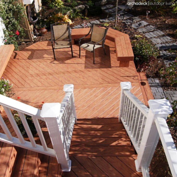 89 best images about platform deck ideas on pinterest for Balcony platform
