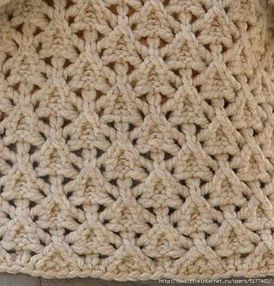 point tricot : je vous propose ce point tricot très original, avec un motif que l'on voit rarement, avec toutes les explications et diagrammes