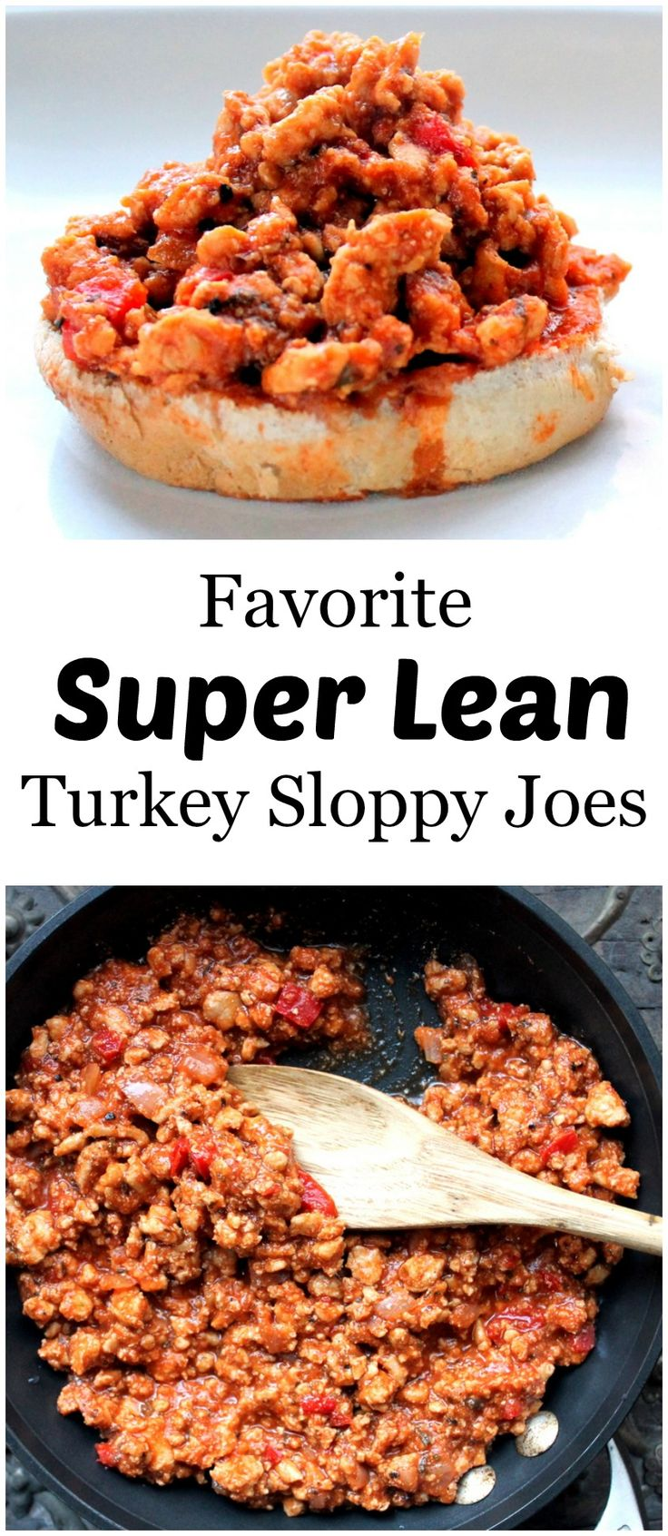 Favorite Super Lean Turkey Sloppy Joes // Ambitious Kitchen
