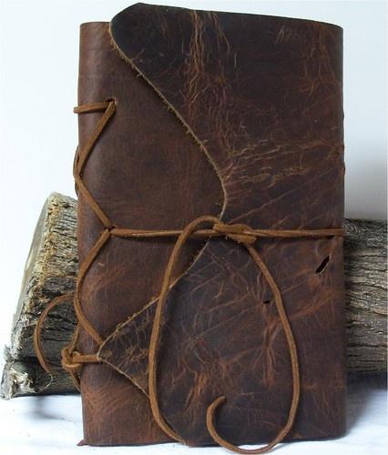 Brown Buffalo Handmade Leather Journal Art Diary Notebook Sketchbook Writing 9X6