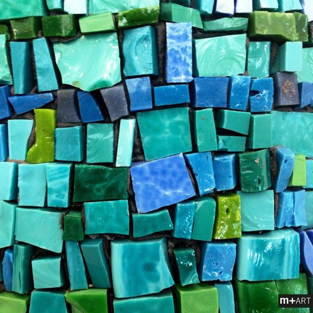 Mosaico+ Artistic Mosaics - Mosaic is Tradition #mosaicopiu #mosaic #tradition #tradizione #artemusiva #arte #art #mosaicoartistico #smalti #smaltiveneziani #turchese #venitian