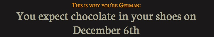 You expect chocolate in your shoes on December 6th