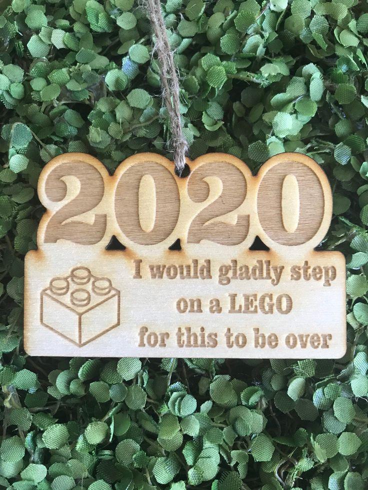 2020 Tag/Ornament/Car Charm Step on a lego year keepsake