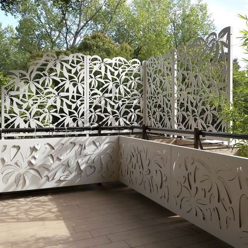 Aluminium-Gitterstein / Terrassen / Garten / nach Maß Logical Space design