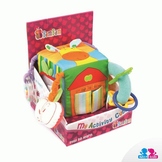 Ein Lernwürfel ist ein Spielzeug, das bei allen Kindern beliebt ist. Es birgt jede Menge Überraschungen in sich und durch das Spielen hilft es, die motorischen Fähigkeiten des Kindes zu entfalten. Dabei lernt das Kind unterschiedliche Formen und Farben kennen.    #lernspielzeug #spielen #kind