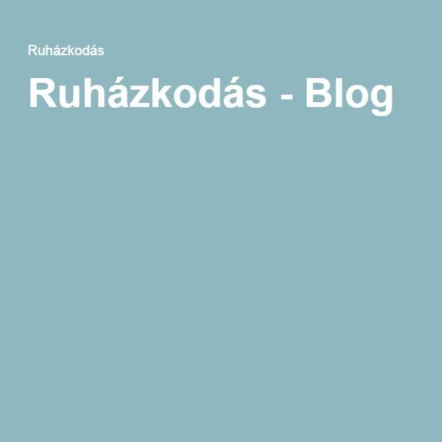 Ruházkodás - Blog