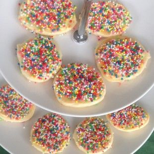 Fairy mini pikelets - these don't last long! #kids party food ideas