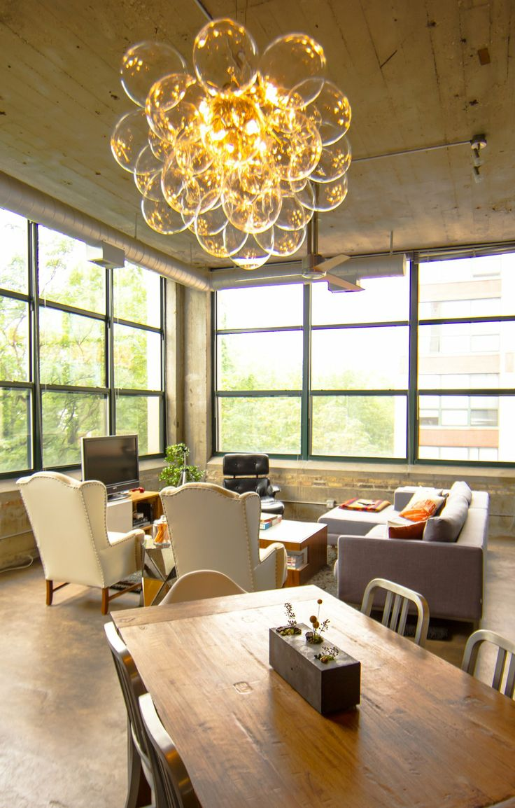 the lighting loft. House Tour: A Dark And Dramatic Chicago Loft The Lighting