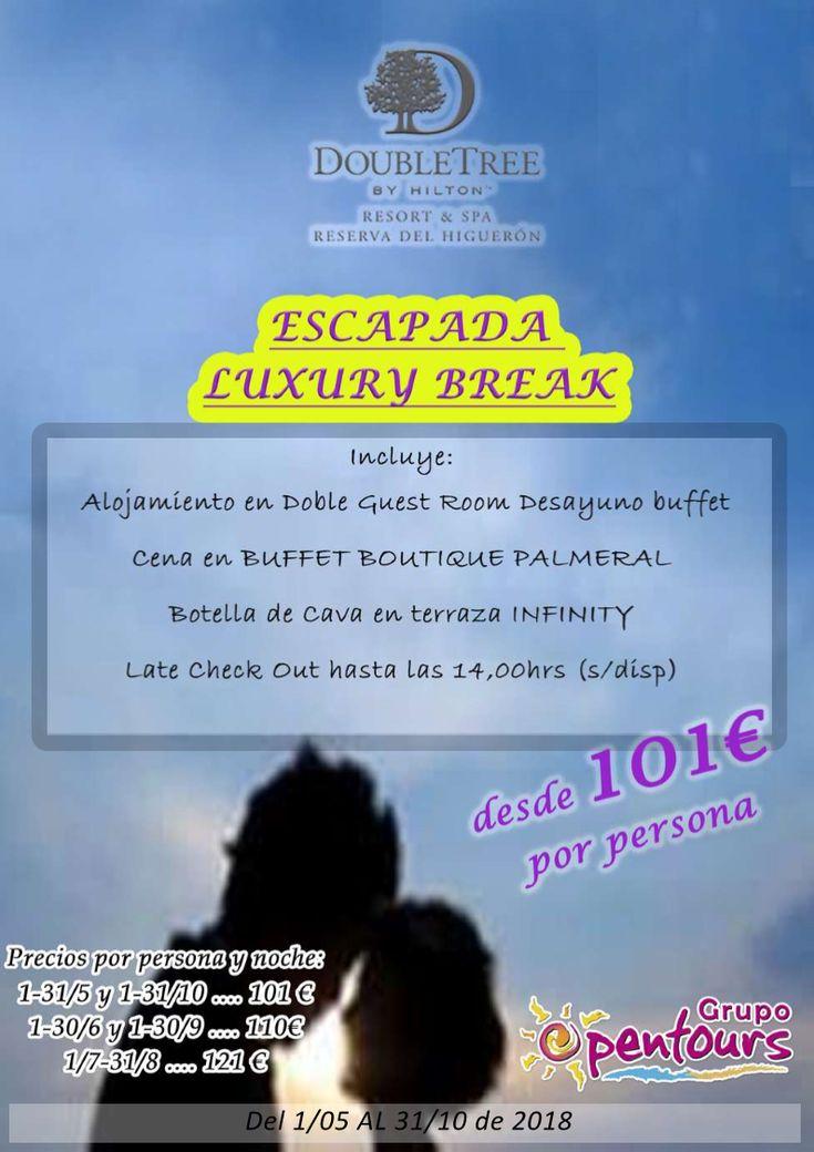 Hotel Reserva del Higuerón **** (Fuengirola, Málaga, Andalucía, España) ---- Especial Luxury Break 2018 ----> Mayo a Octubre ---- Resto condiciones de esta oferta en www.opentours.es ---- Información y Reservas en tu - Agencia de Viajes Minorista - ---- #reservadelhigueron #hotelhigueron #fuengirola #malaga #costadelsol #LuxuryBreak #InfinityPackage #SpaPackage  #escapadas #hoteles #vacaciones #estancias #ofertas #familias #niños #agentesdeviajes  #reservas #touroperador #mayorista #spain…