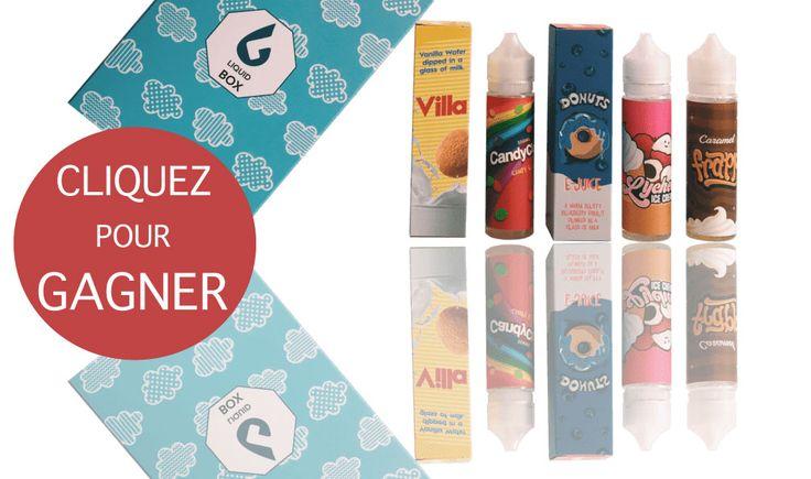 L'ENORME BOX est là et elle vient avec sa petite soeur la Grande Box ! L'ENORME BOX (format XL) c'est : 5 x 50ml de e-liquide + 5x10ml de booster de nicotine Prix sur le marché : +130€ PrixLiquidBox:80€ ? 60€ ? 55€ ? 49€99 Soit moins de 10€ les 60ml, booster inclus Ceci est simplement le Meilleur Rapport Qualité-Prixdu marché La GRANDE BOX c'est 160ml de e-liquides pour 34€99, soit 50% d'économie ! Pour célébrer leur arrivée, nous vous proposons de gagner 5ENORMES BOX XLà travers…