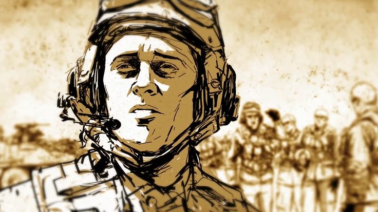 An animated film based on a true story by Iraq veteran Colby Buzzell