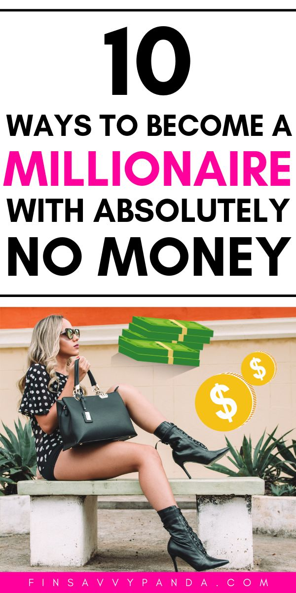 How To Become a Millionaire With No Money (Personal Finance Tips For The Broke) – Become A Millionaire