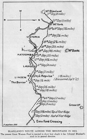 Journal of a tour of discovery across the Blue Mountains, New South Wales, in the year 1813, by Gregory Blaxland : part2