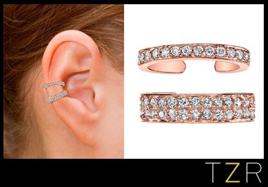 Anita Ko Rose Gold Diamond Ear Cuff   The Zoe Report
