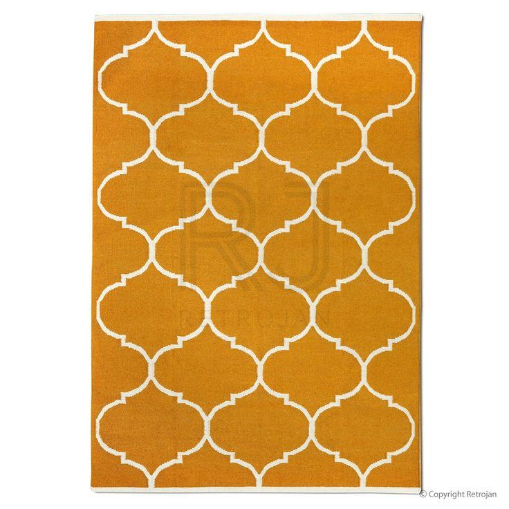 Savoy Designer Rug - Orange | $399.00