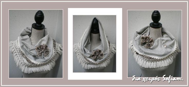 """<limited edition>14N7_scarf """"A Paris"""""""