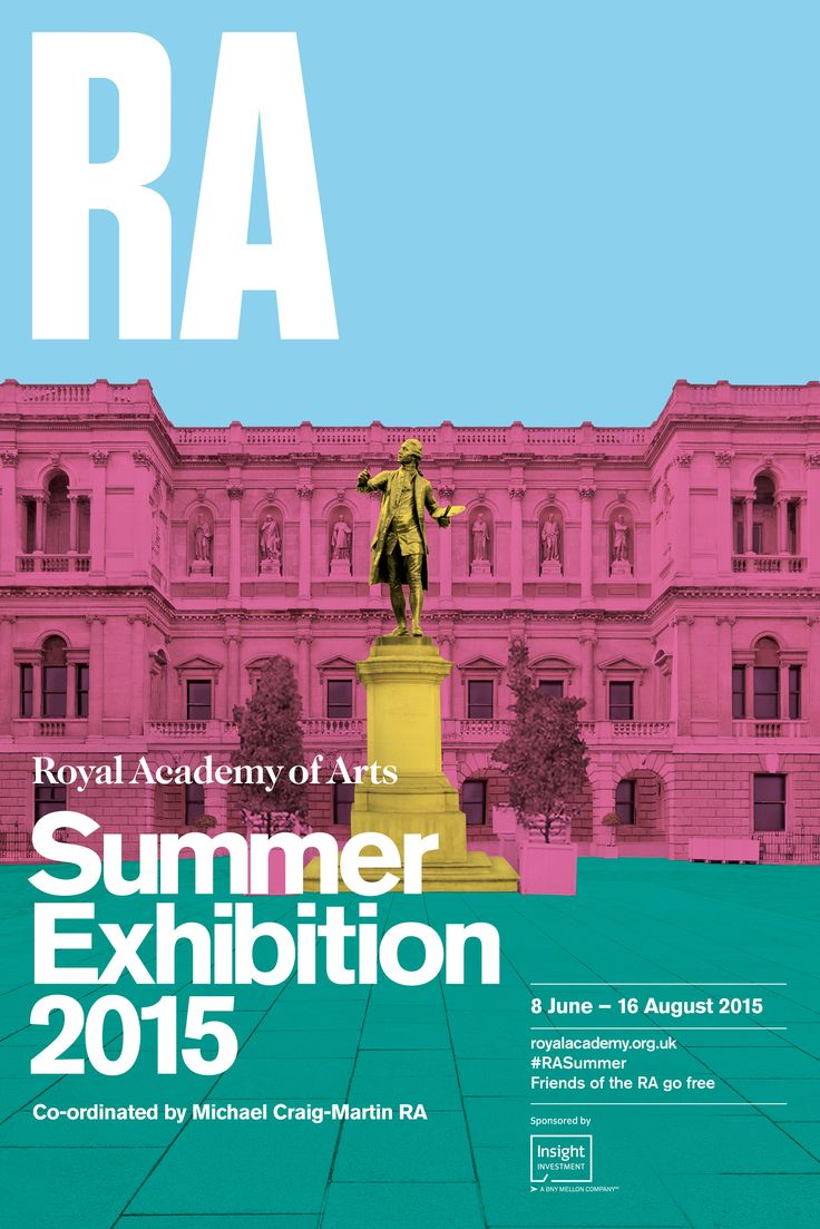 Brighten up your home with the official poster from the 247th Summer Exhibition. Designed by the Royal Academy this poster features a classic image with a contemporary edge. Bright and colorful, the 2015 Summer Exhibition is a burst of innovation and vibrancy and a must-see for any art lover.