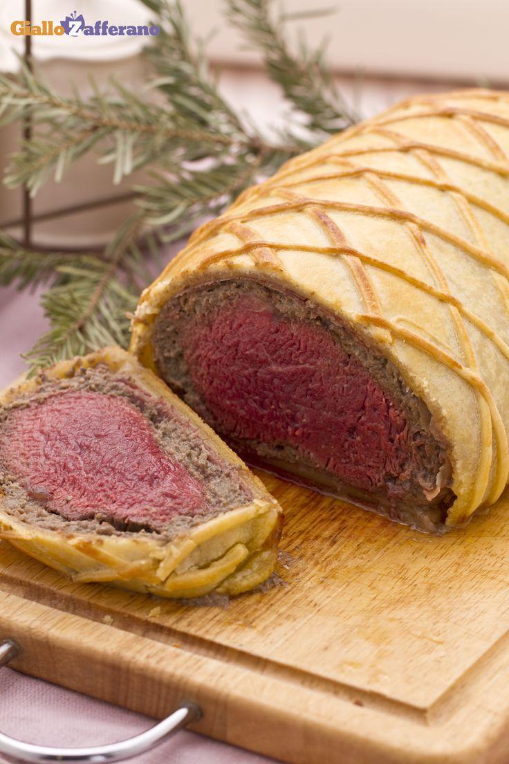 Per un #Natale indimenticabile, ci vuole una #ricetta speciale come il filetto in crosta (fillet of beef in pastry)! #Christmas #GialloZafferano