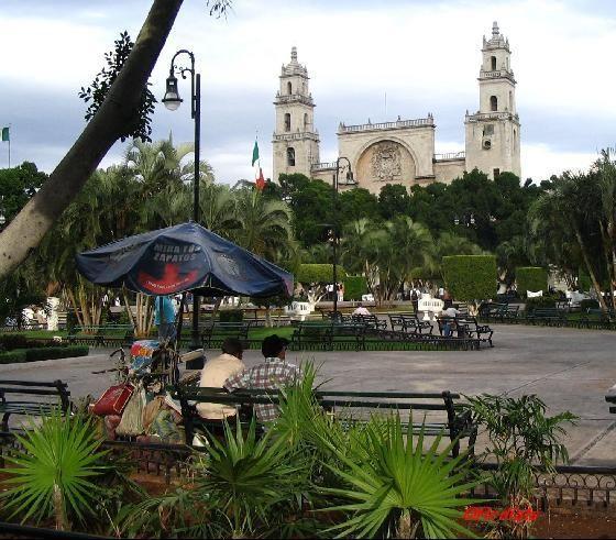Merida, Yucatan.  A beautiful, clean and safe capital city. Close to many Mayan ruins. I will be back!