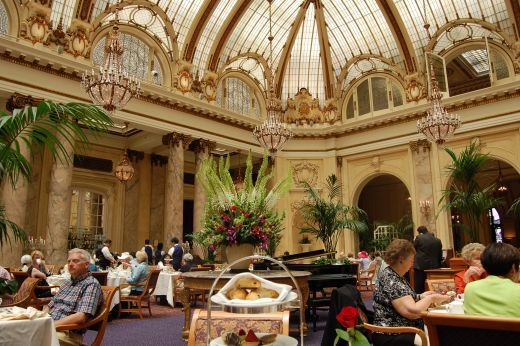 Tea Time in San Francisco at The Palace Hotel