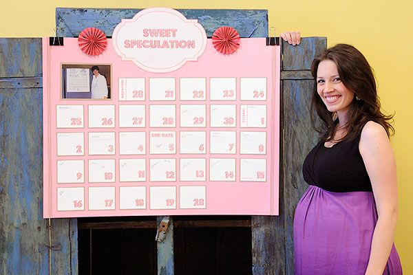 Newborn Calendar Ideas : Baby due date pool shower ideas pinterest the