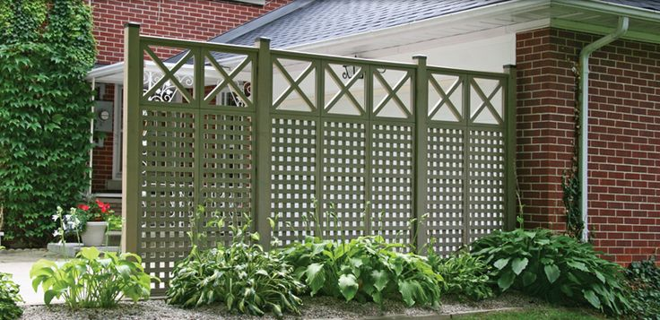 Garden Screen From Yardistry Structures Screens