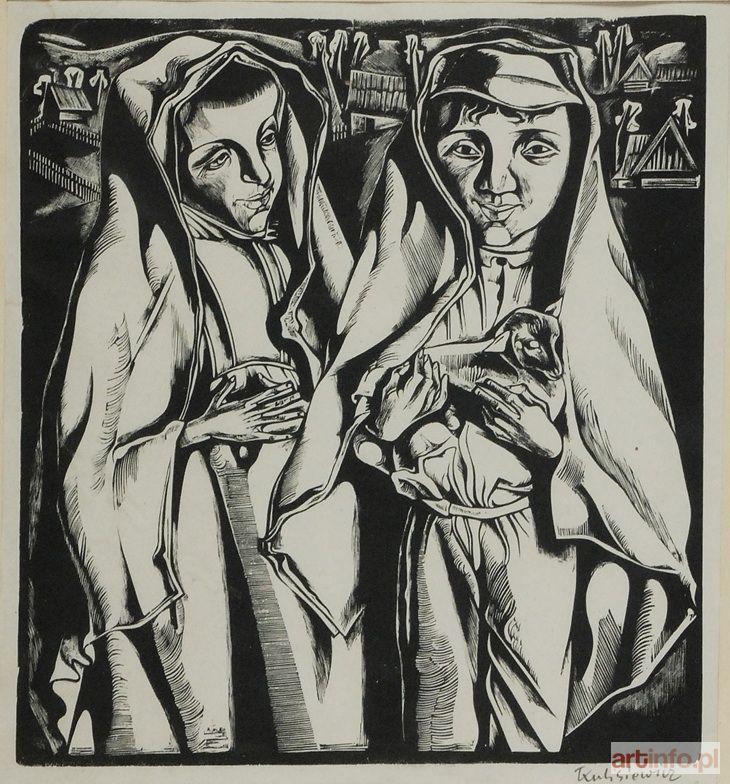 Tadeusz KULISIEWICZ ● Dzieci z jagnięciem, 1931 ●