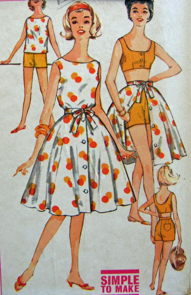 Summer Sewing In 2019 Vintage Images Vintage Sewing