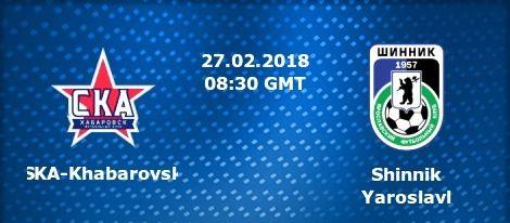 (adsbygoogle = window.adsbygoogle    ).push({}); Watch SKA-Khabarovsk vs Shinnik Yaroslavl Live Football Stream  Live match information for : Shinnik Yaroslavl SKA-Khabarovsk Russian Cup Live Game Streaming on 27 February 2018.  This Football match up featuring SKA-Khabarovsk vs Shinnik Yaroslavl is scheduled to commence at 08:30 UK 14:00 IST.   #RussianCup2018Soccer #ShinnikYaroslavl2018FootballOnlineBetting #ShinnikYaroslavl2018Highlights #ShinnikYaroslavl2018Prediction #
