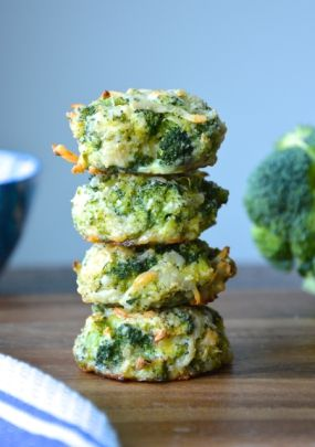 baked broccoli nuggets- remove the cheese to make it Paleo... Maybe use a bit of coconut cream to sub