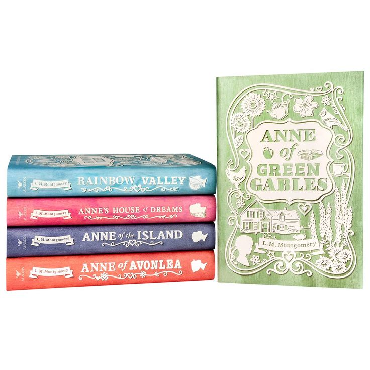 Anne of Green Gables Set of 5: $90 (Before you pay this, check out Book Depository. They have this same set for like $36, I think.)