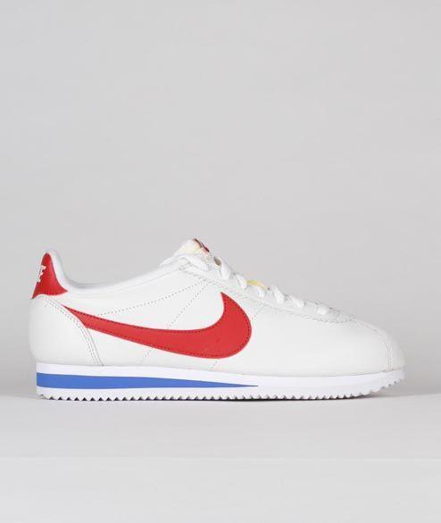 Nike Sportswear - Classic Cortez PRM - White Varsity Red