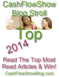 Take The 2014 Blog Stroll  and win LIFETIME Club membership! www.CashFlowShowSweepstakes.com