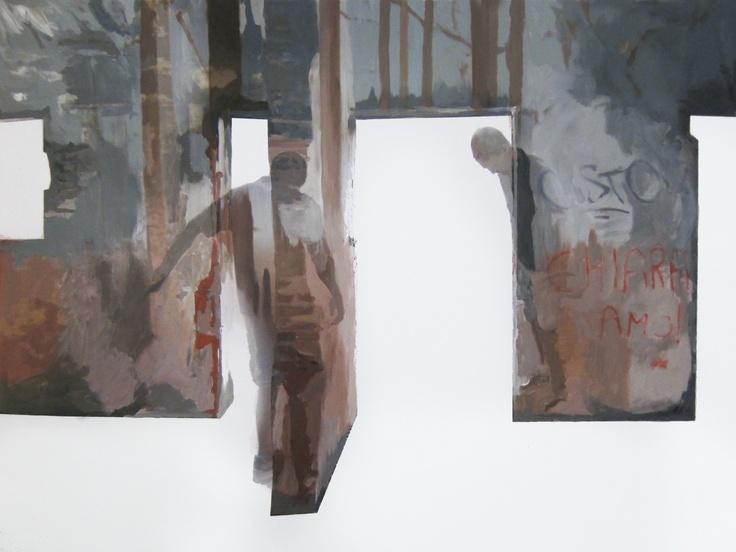 Anna Caruso | www.annacaruso.it | acrylic on canvas, 75x100cm, 2013