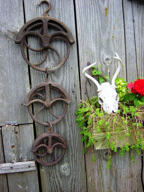 Industrial Metal Pulley Large Barn Pulley Antique Farm