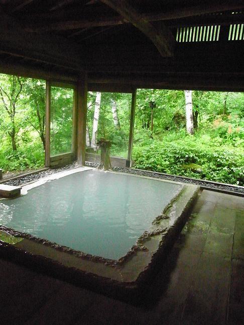 Shirahone hot spring in Nagano, Japan