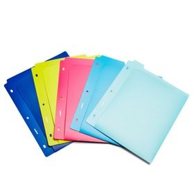 Assorted Poly Pocket Dividers, Set of 5,