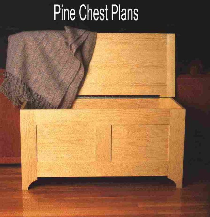 Charitable woodworking plans plywood hope chest plans for Blanket chest designs