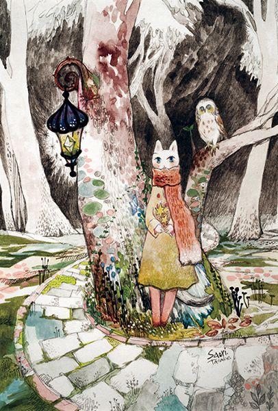 旅猫と星とふくろう森