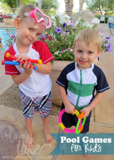 Fun Swimming Games you can play with Kids - Swimzip giveaway