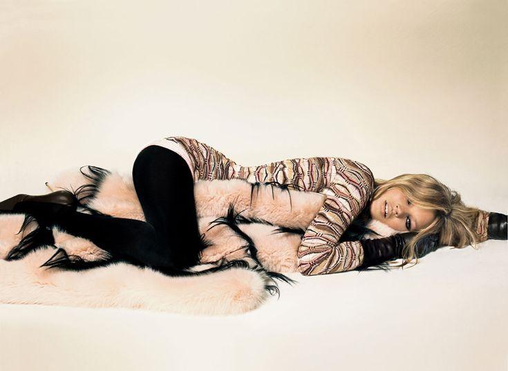 Kate Moss for Missoni F/W 2003   Missoni