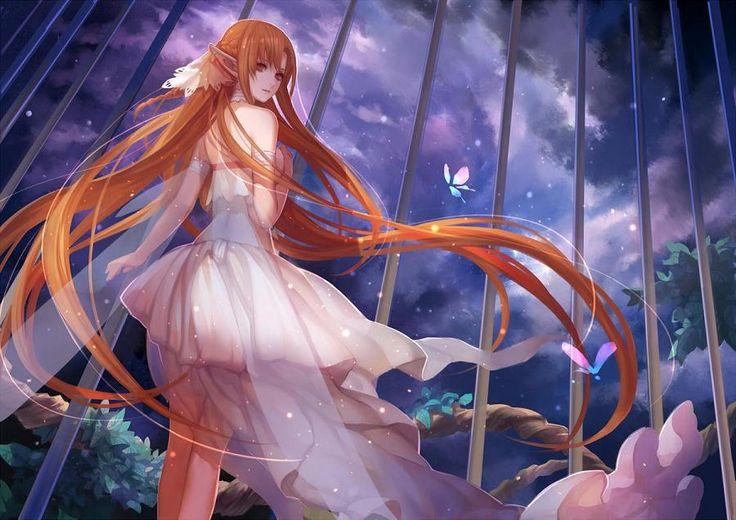 Yuuki Asuna - Sword Art Online,Anime