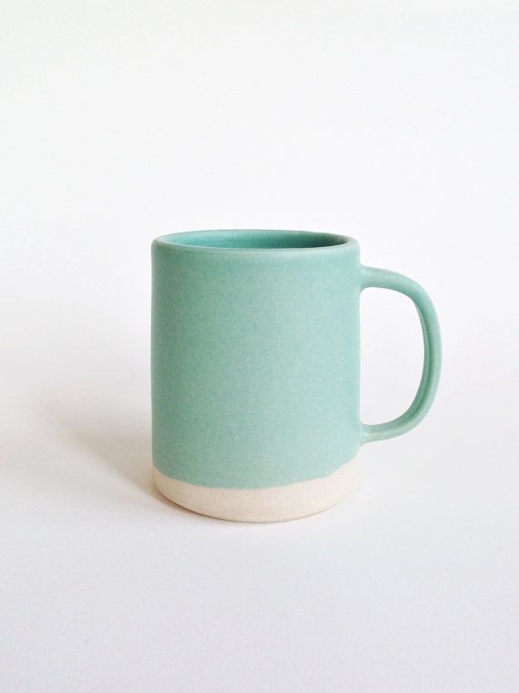 The Danish Mug large by paperandclaystudio on Etsy