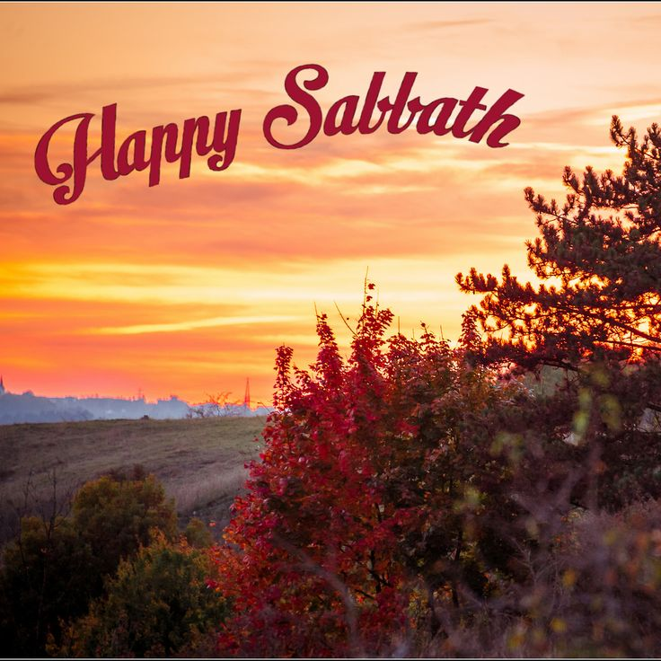 Happy Sabbath!!