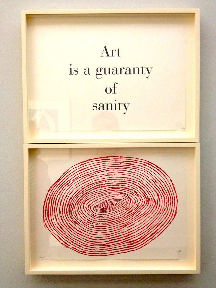 Art Is A Guaranty Of Sanity @tnoac