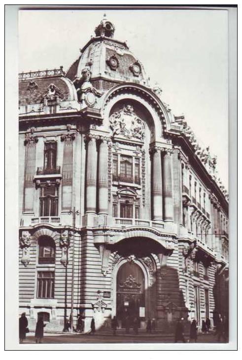 Bucuresti - Fosta Bursă, lângă Banca Naţională - interbelica