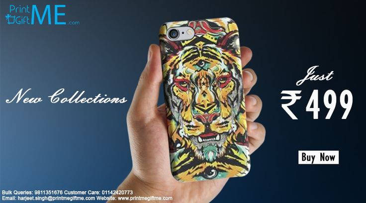 launching New Tiger IPhone Cover Grab it Just @499 http://printmegiftme.com/accessories/iphone-cover
